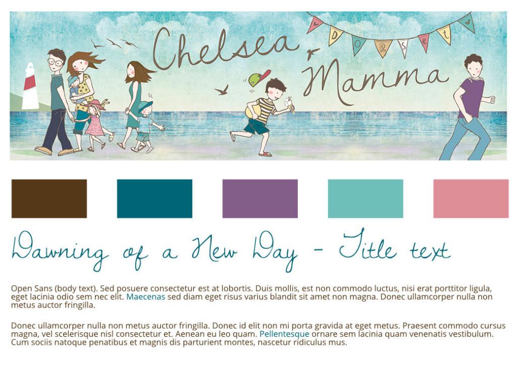 Chelsea Mamma Colours